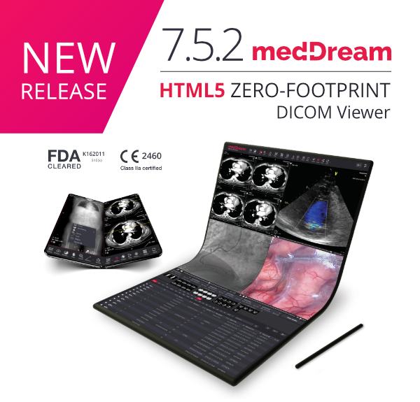 MedDream DICOM Viewer 7.5.2 newsletter cover
